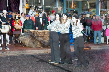 Mimes, Marquette's Halloween Spectacle 2016